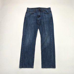 Lucky Brand 221 Straight 32 X 30 Medium Wash Jeans
